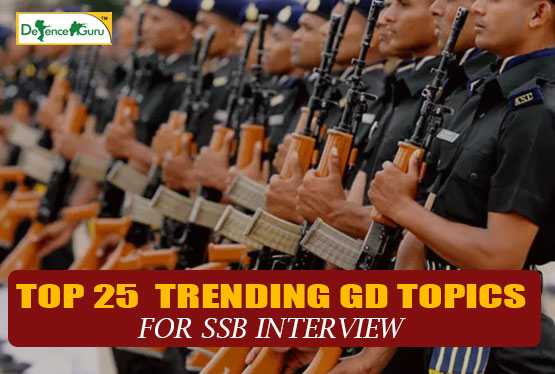 GD Topics for SSB Interview
