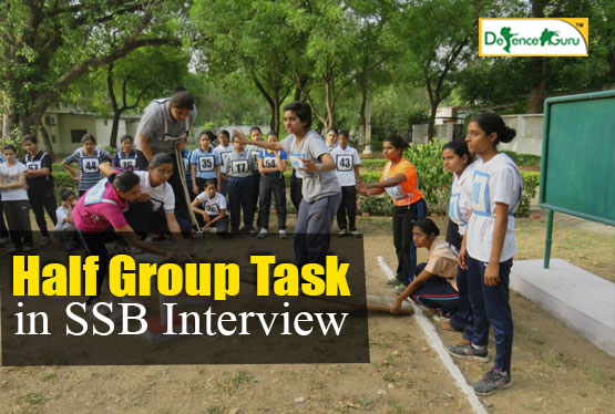 Half Group Task in SSB Interview