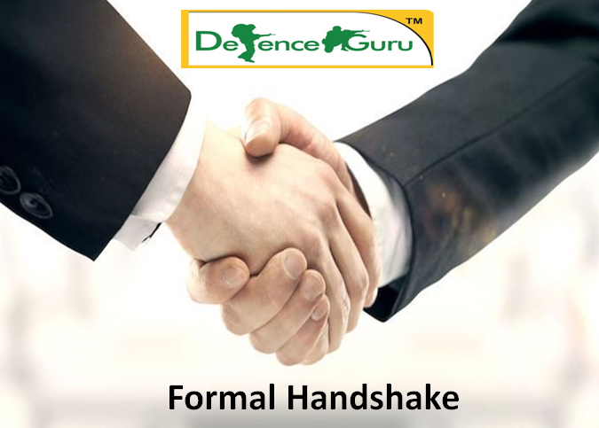 Formal Handshake in Interviews