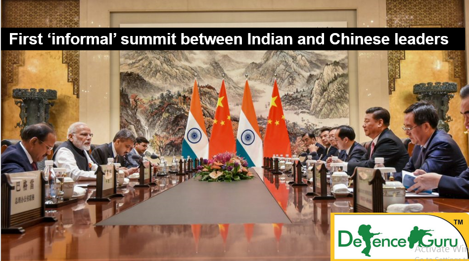 India China relations India China Wuhan meet