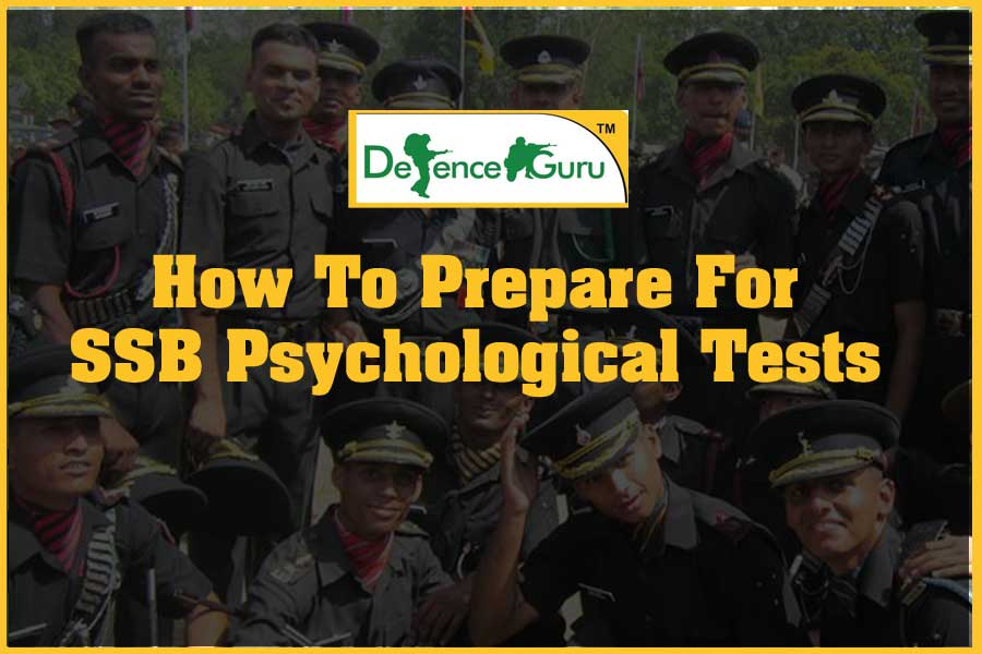 How To Prepare For SSB Psychological Tests