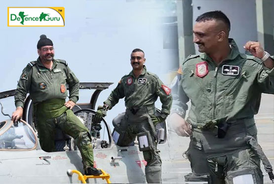 Wg Cdr Abhinandan flies MiG-21 sortie with Air chief BS Dhanoa
