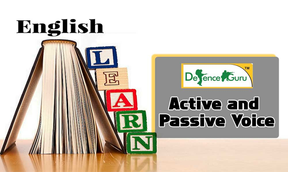 Active and Passive Voice Rules