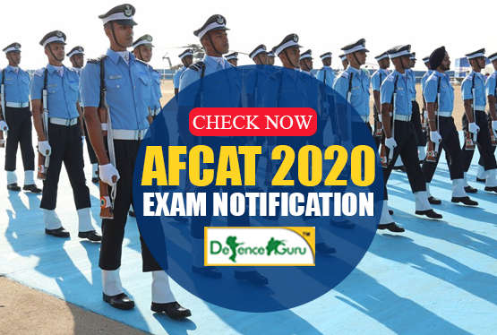 AFCAT 2020 Exam Notification