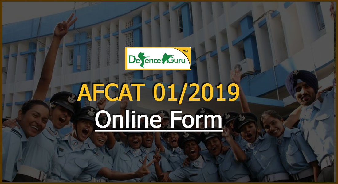 AFCAT 1 2019 Exam Notification