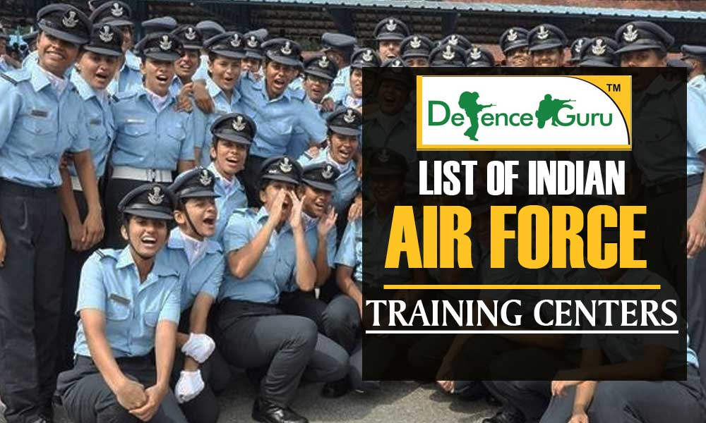 List of Indian Air Force Training Institutes