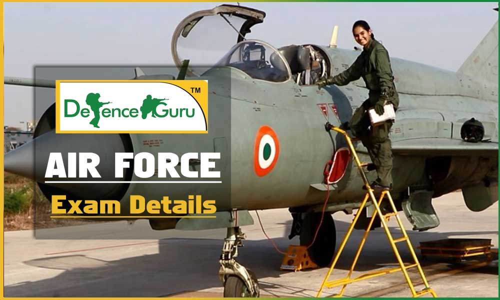 Indian Air Force Exam Details