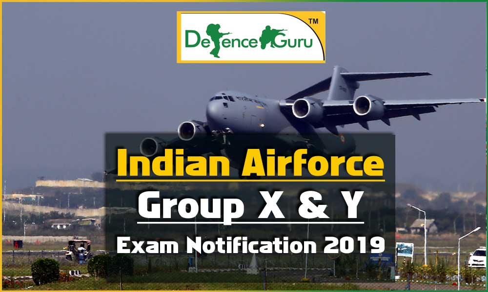 Air Force Exam Notification 2019