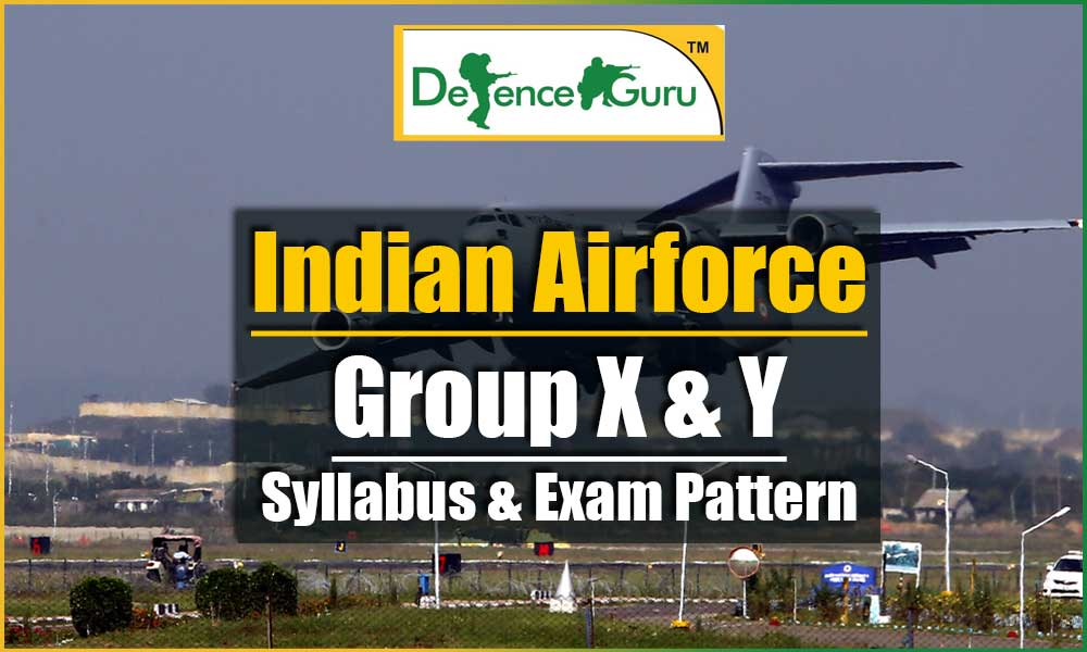 Airforce Group X Y Syllabus and Exam Pattern