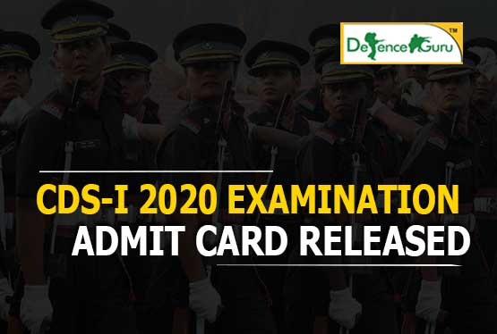 CDS 2020 Admit Card