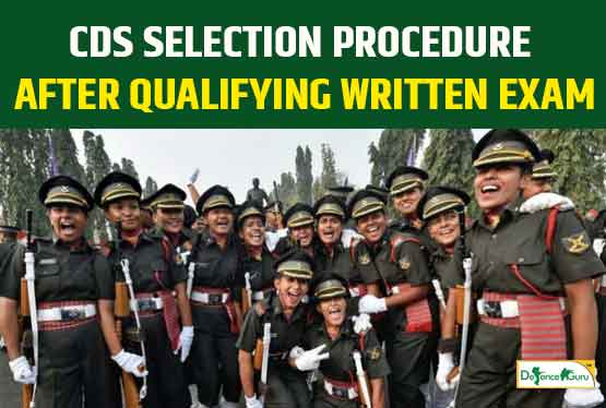 CDS Exam Selection Procedure