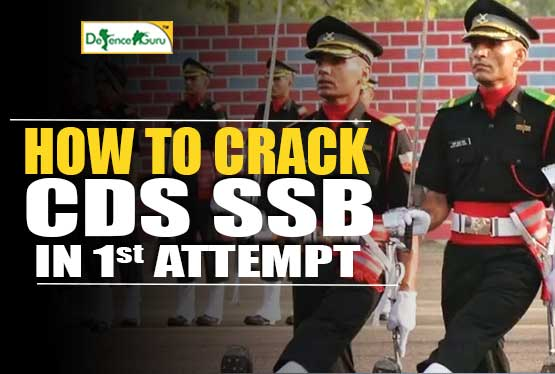 Crack CDS SSB In First Attempt