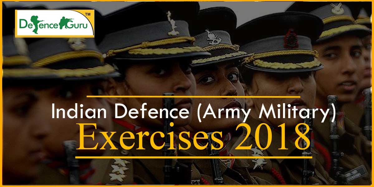 Indian Defence Exercises 2018