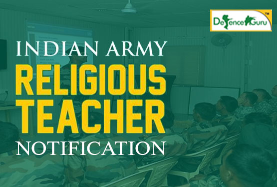 Indian Army Dharm Guru Religious Teacher Notification 2019