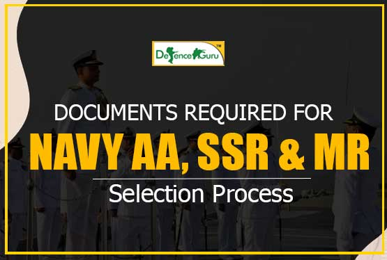 Documents Required for Navy Exam