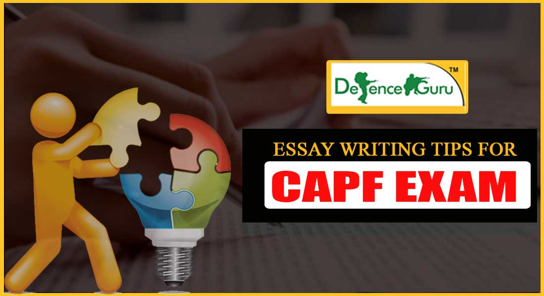 Essay Writing Tips for CAPF Exam