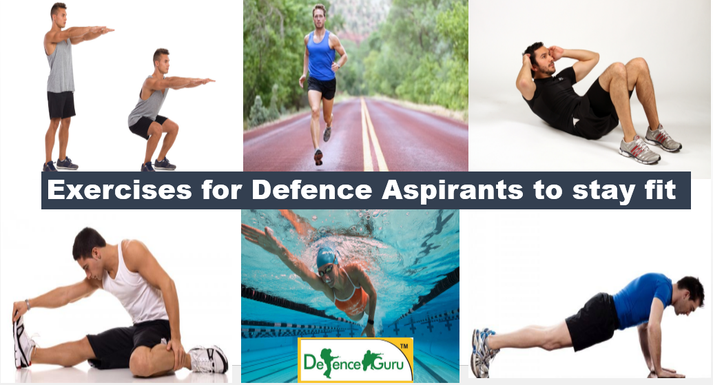 Physical Exercises that Defence Aspirants must Know to stay Fit, Exercises for joining Indian army, Indian army physical exercises,Morning exercise for defence aspirants