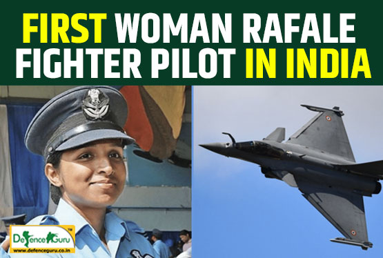 First Woman Rafale Fighter Pilot