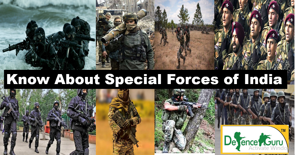 Indian Special Forces that rank amongst the best in the World, Indian Special Forces, About Garud Commando force,