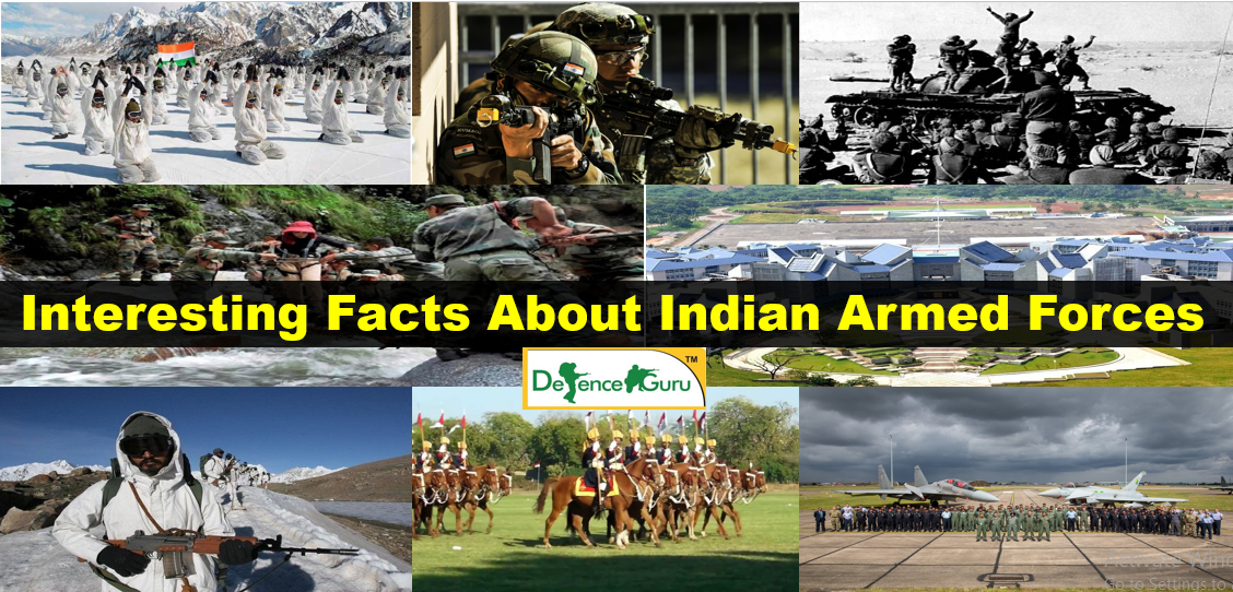 Interesting Facts about Indian Armed Forces