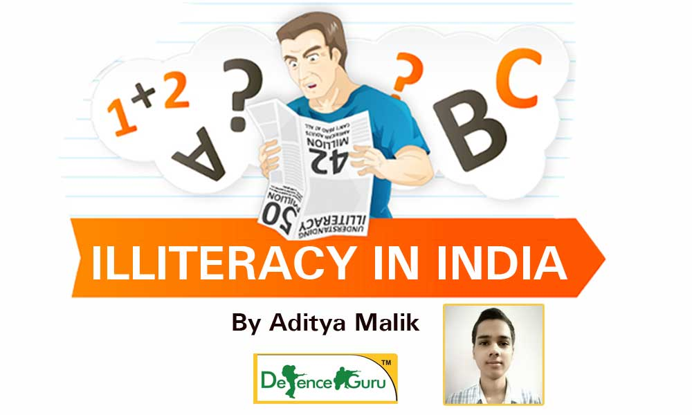 Illiteracy in india
