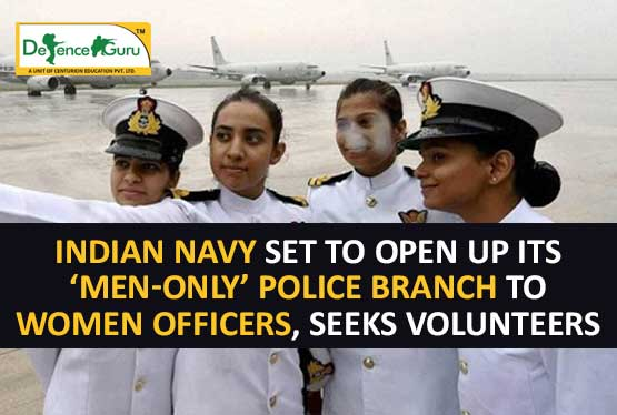 Indian Navy set to open up its 'men-only' police branch to women