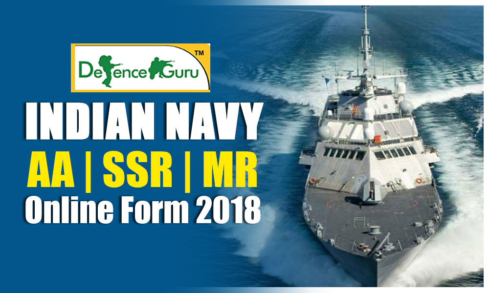 Indian Navy SSR AA MR Online Form 2019