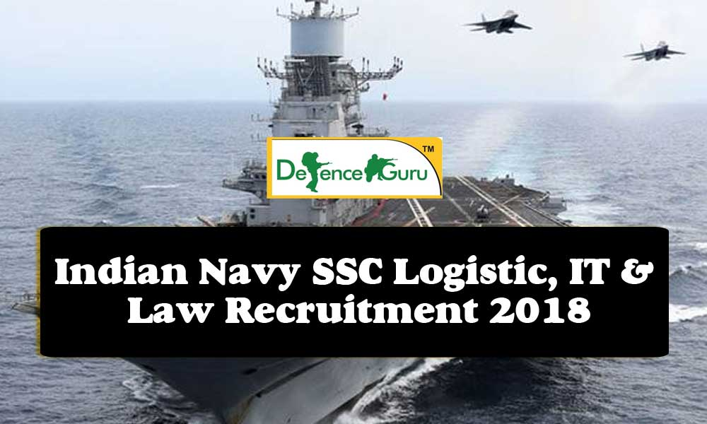 Indian Navy SSC Officer Online Form 2018