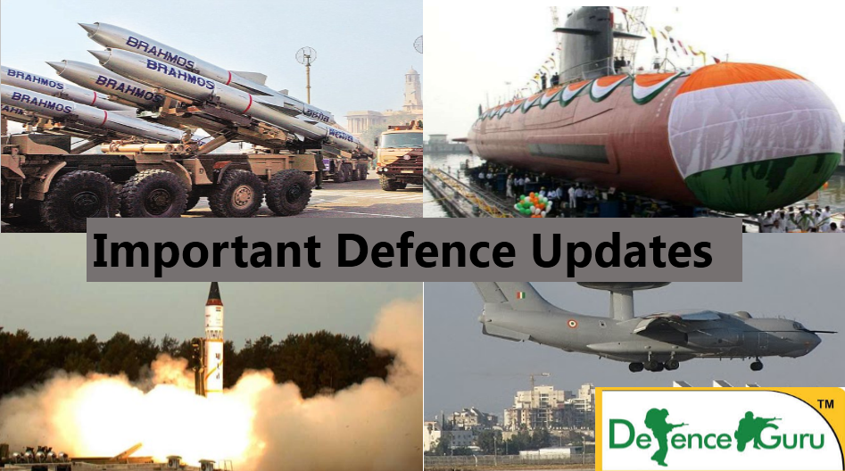 Defence current affairs 2018