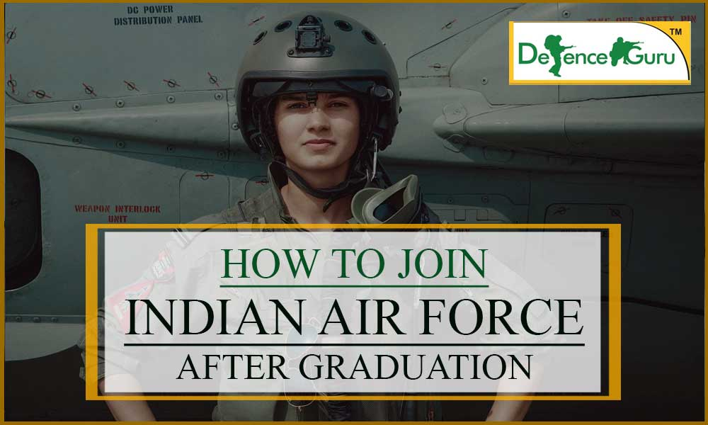 Join Indian Air Force After Graduation