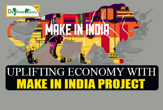Uplifting Economy With Make In India Project