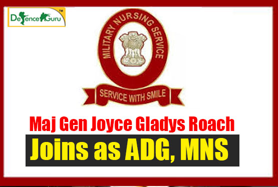 Roach joins as ADG-MNS