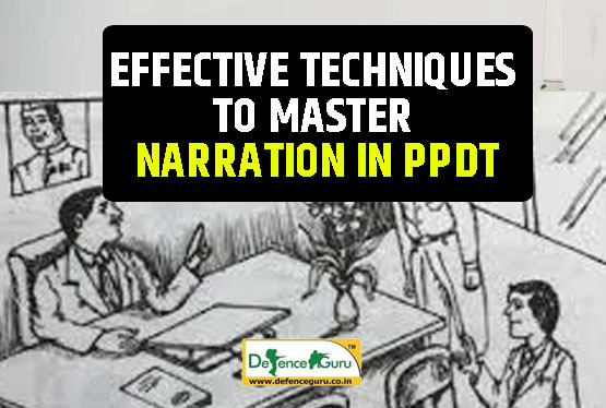 Narration techniques in PPDT