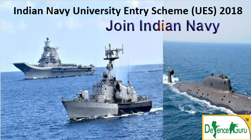 Indian Navy University Entry Scheme Notification 2018