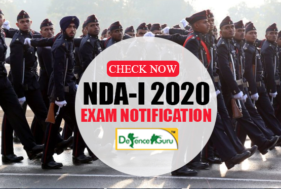 NDA 2020 Exam Notification