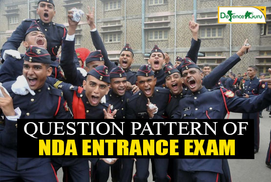 Question Pattern Of NDA Entrance Exam