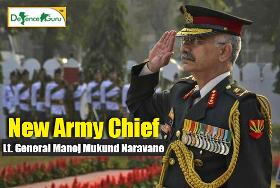 New Indian Army Chief - Lt. General Manoj Mukund Naravane
