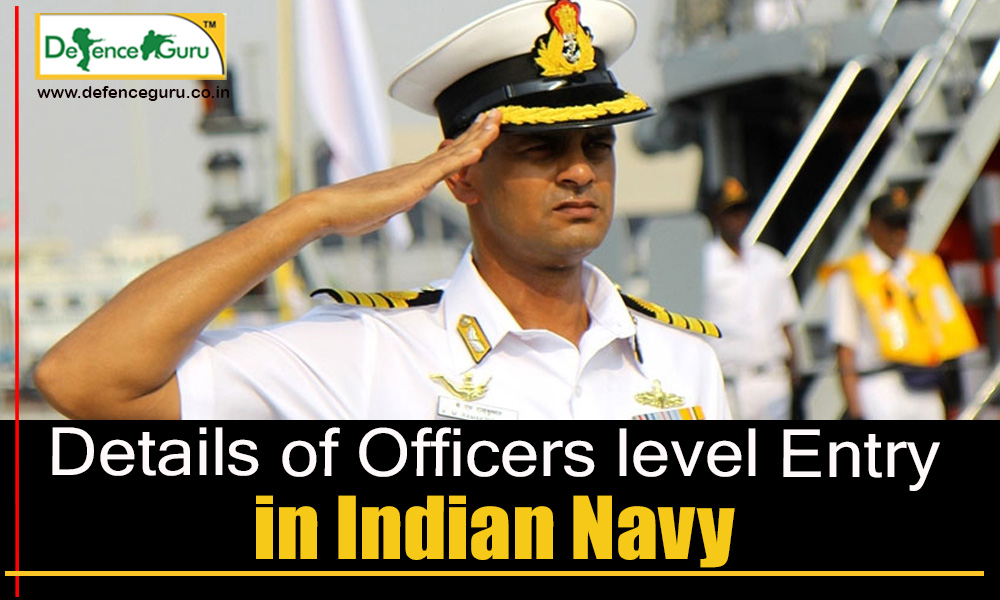 Officers Entry for Indian Navy