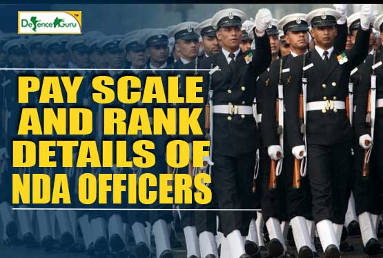 NDA Officer Pay Scale and Rank Details
