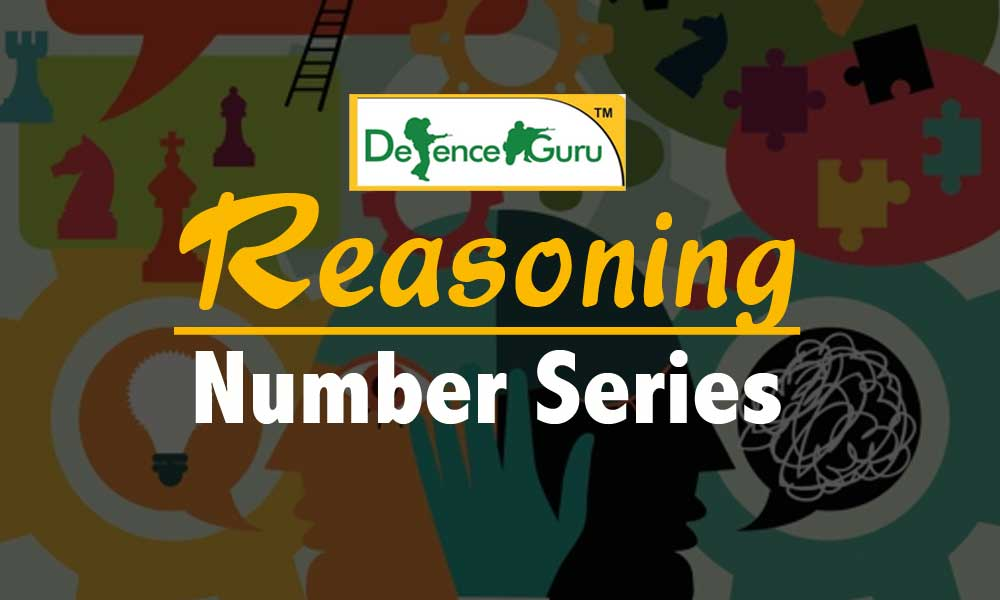 Reasoning Number Series for MNS Exam