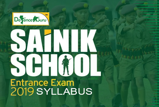 Sainik School Entrance Exam Syllabus