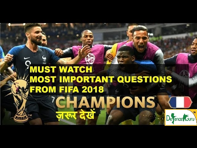 Must Know About FIFA world cup 2018