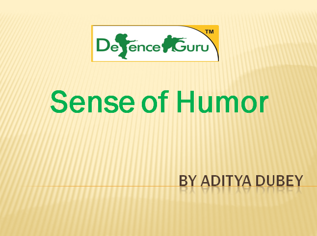 Sense of Humor in interviews and at workplace
