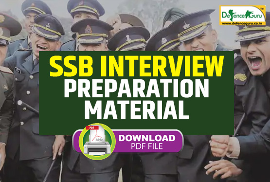 Free SSB Interview Preparation Material