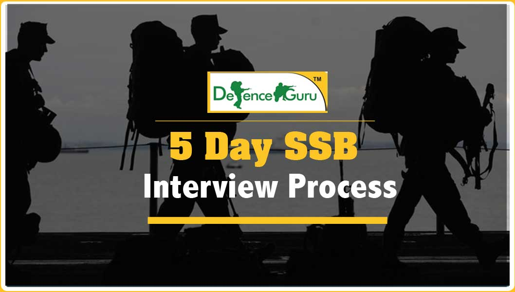SSB Interview Procedure