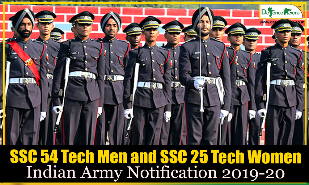 Indian Army SSC Tech Notification