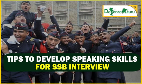 Tips to Develop Speaking Skills for SSB Interview