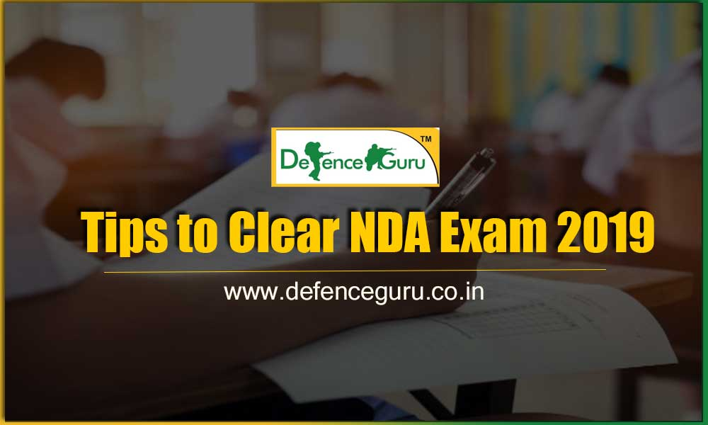 Tips to Clear NDA Exam 2019