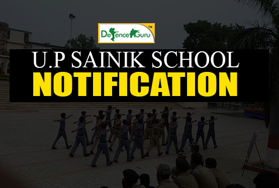 UP Sainik School Notification