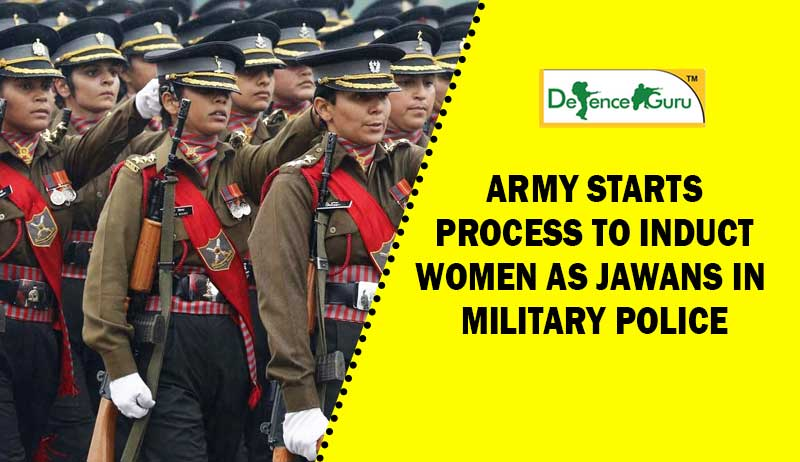 Women Can Join Indian Army Military Police Now
